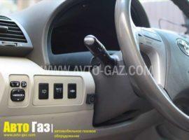 Газовое оборудование на Toyota Camry 2,4.