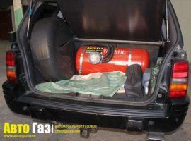 Газовое оборудование на Jeep Grand Cherokee 5.2.