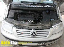 ГБО на VW Sharan VR6.