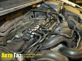 Газовое оборудование на Ford Focus 1.6.