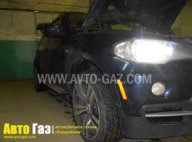 ГБО на BMW X5 E70.