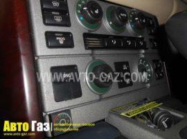 Газовое оборудование на Land Rover Range Rover.