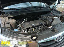 Газ на Hyundai Santa-Fe.